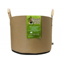 Smart Pot 15 Gallon Tan w/cut handles