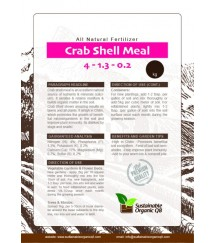 Crab Shell Meal – Organic Soil Amendment Small: 0.8KG