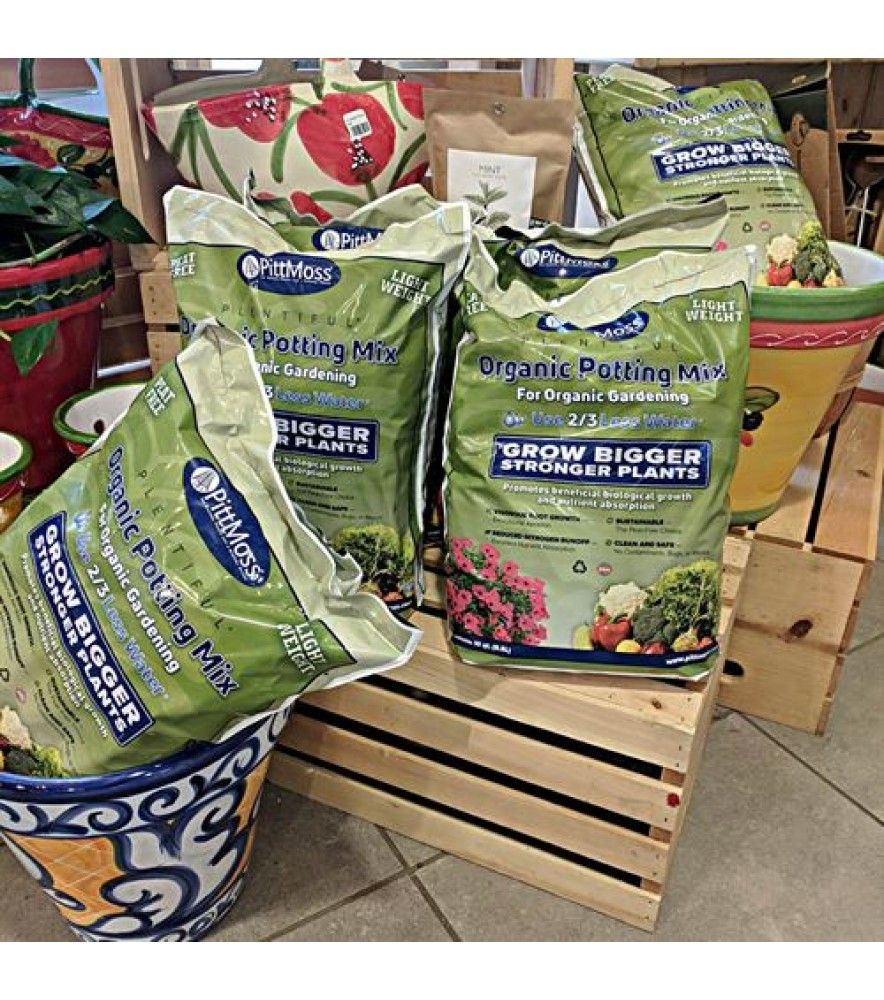 PittMoss® Plentiful- Organic Potting Mix Small 9.46 Liter