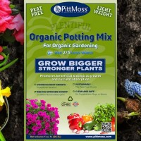 PittMoss® Plentiful- Organic Potting Mix Large 56 Liter